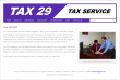 Tax 29 - Our History